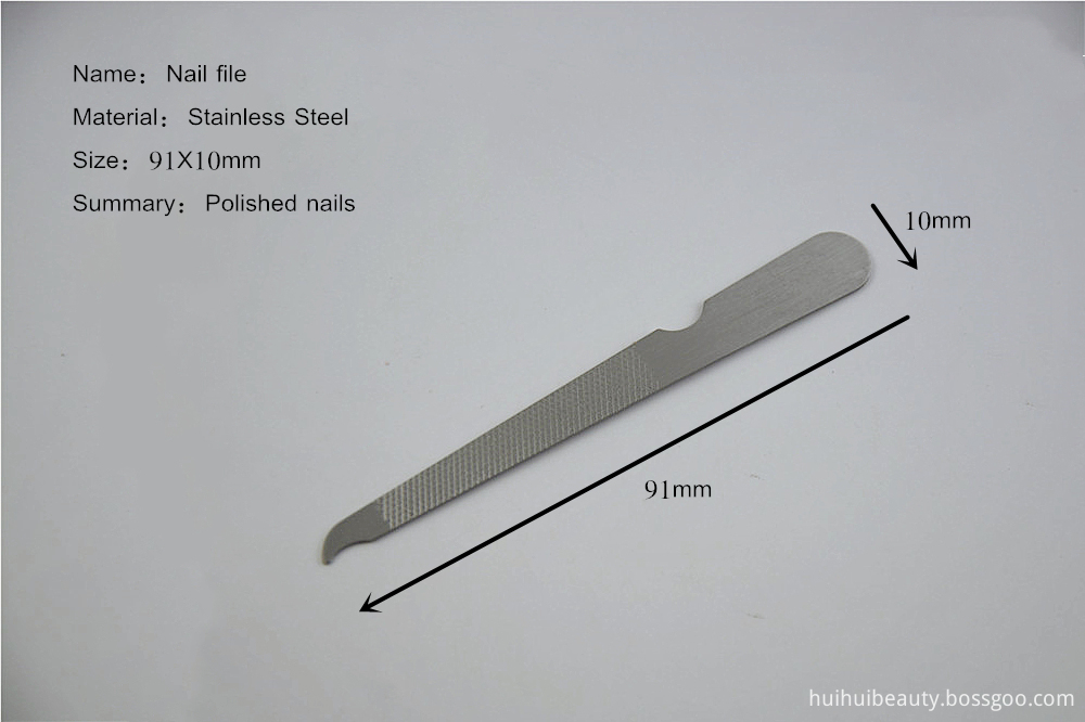 Cleaning Nail Files
