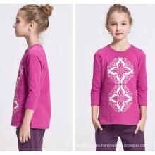 Sweat Girl New Knitting Sweater camiseta de manga larga