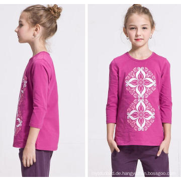 Sweat Girl New Strickpullover Langärmeliges T-Shirt