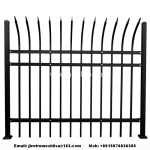 Zinc+Steel+Wrought+Iron+Fence+For+Garden