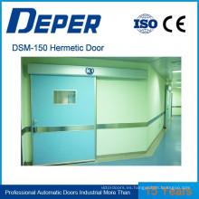 Operador de puerta hermético automático Deper
