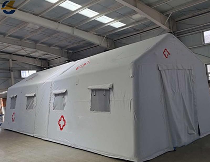 Outdoor relief tents