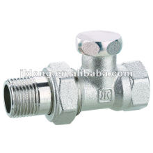 09344 с никелированными угловыми клапанами радиатора