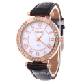 Roman Dail Leather Watch For Ladies