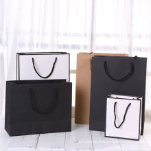 Hand length kraft paper type stylish exquisite christmas D-cut paper gift bag