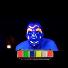 Waterbased Glow In dark Neon Fluorescent Face Paint