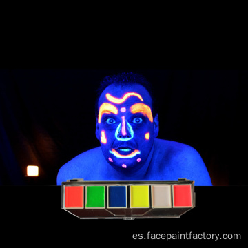 Pintura Corporal Glow In The Dark Face