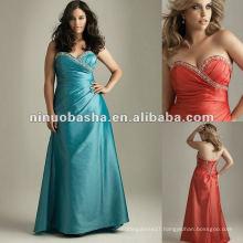 Beaded Sweetheart Strapless Taffeta Evening Dress 2012