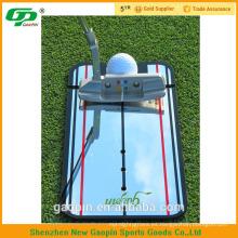 putting golf espejo