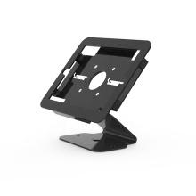"""SC-1101 Black 9.7"""" rotating tablet enclosure screw lock security stand for tablet"""