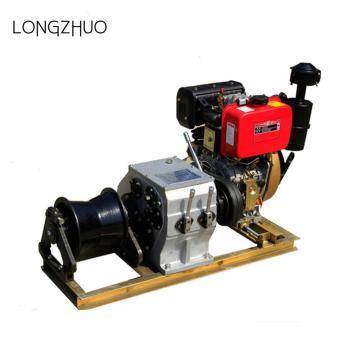 Herramientas de tracción del cable del torno accionado por motor de gas