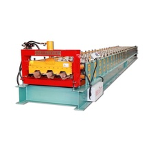 Decking Floor Roll Forming Machine con PLC