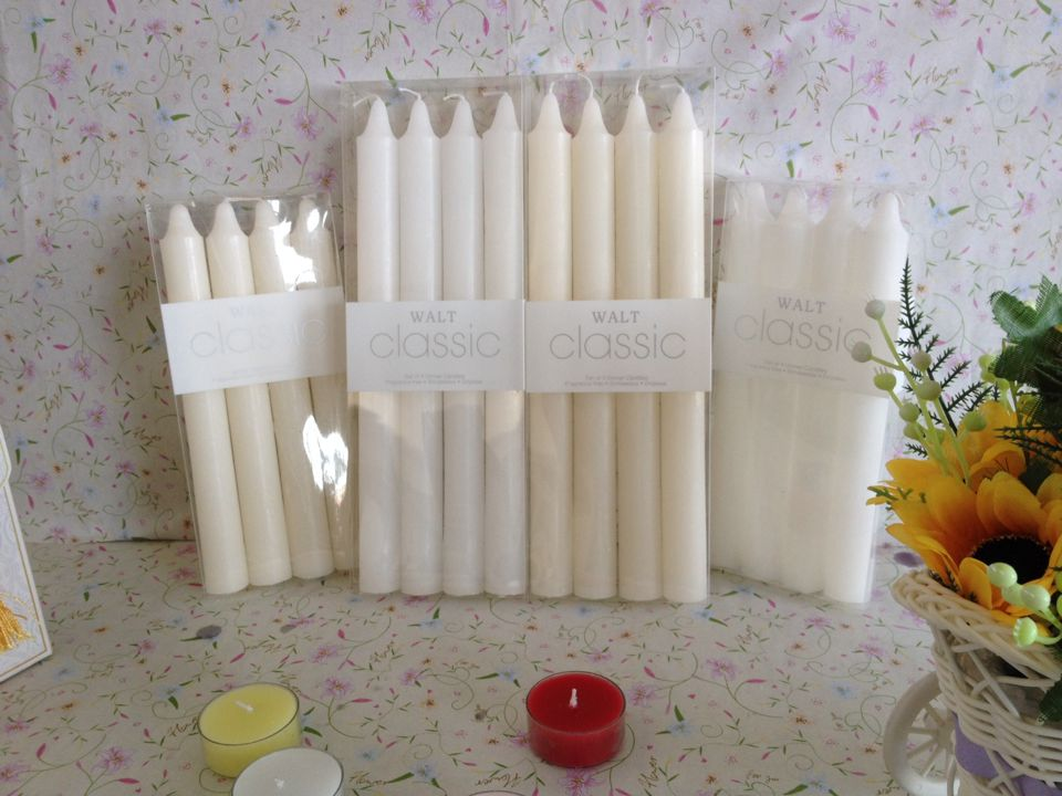 Fluted candles cheap white pillar candles