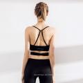 Pantalones de traje de yoga de fitness de mujer de costura de moda conjunto de ropa deportiva Sports Bra