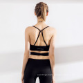 Fashion Stitching Slim Fitness Women Yoga Suit Pants Sports Bra Sportswear Set