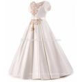 Высокое качество элегантный Детский бутик одежды вышивкой Сатин Фея испанский цветок девушка платье