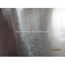 Bobina de alumínio escovado
