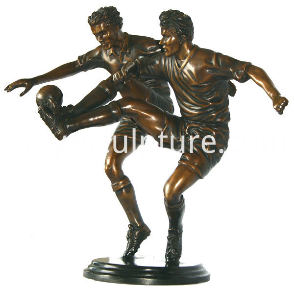 Bronze Life Size Sports Man Sculpture