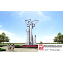 Superb Park Stainless Steel Sculpture