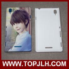 Mate y brillante Printe personalizados sublimación teléfono caso Sony Xperia T3
