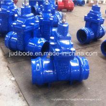 Válvula de compuerta con extremos de zócalo para PVC Pipe / Di Pipe