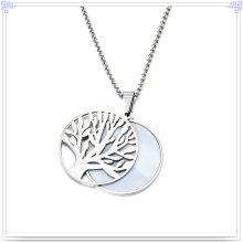 Pérola jóias acessórios de moda Jóias de aço inoxidável conjunto (JS0224)