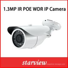 1.3MP WDR Poe IP IR Waterproof Bullet CCTV Security Camera