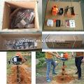 52cc 1700w Mini Post Hole Digger Perceuse à foret Perceuse à gaz Essence de sol à essence portable
