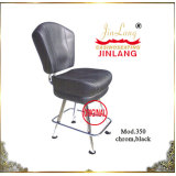 Casino Chair (No 350 Chrome Frame, Black)