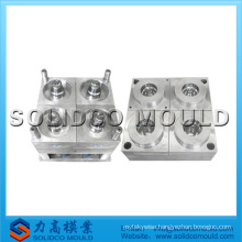 Four cavity cup mould