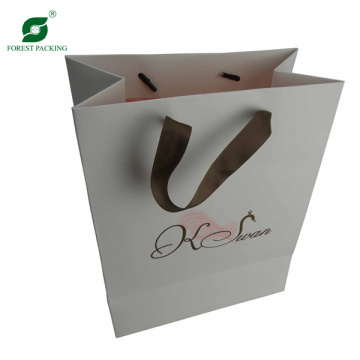 Custom Paper Carrier Shopping Bag (FP3036)