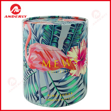 Round Paper Gift Tube for Candle Packaging