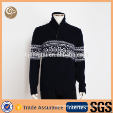 Mode en gros Chine tricotant pull en cachemire de noël