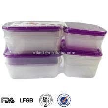 Envase de almacenamiento de alimentos de plástico