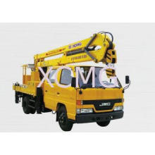 Durable Knuckle Booms Bucket Truck Lift For Aerial Lifting