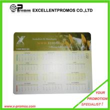 Alfombrilla de ratón del calendario del PVC / estera del ratón (EP-M1040)