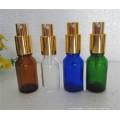 Эфирное масло Стеклянные бутылки с различной крышкой