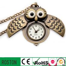 Japan Movement Custom Vintage Men Pocket Clock