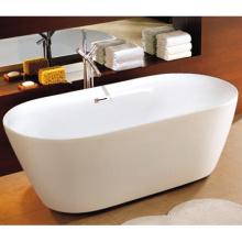 Sequana не акрил 67 в овальная Отдельностоящая Ванна комплект