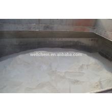 Adubo orgânico solúvel em água com cloreto de potássio