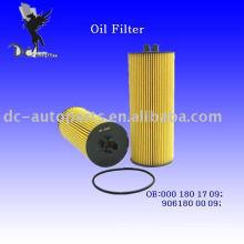 Inserto de filtro de aceite 000 180 18 09 para Benz
