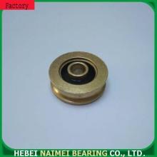 U groove pulley for sliding door wheel