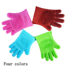 Customized for Pet Deshedding Brush Glove Pooch Pet Grooming Glove export to Luxembourg Supplier