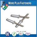 Made in Taiwan Aluminum Large Flange Anodized Stainless Steel Blind Rivet