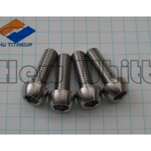 high strength Gr5 titanium bullet screw