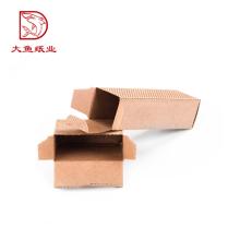 Novo design eco-friendly reciclável de 3 camadas caixa de papelão ondulado tubo oem