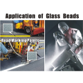 Good Chemical Stability Glass Beads for Grinding