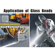 Limpador abrasiva areia jateamento de esferas de vidro