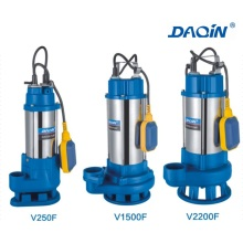 V Seires Stainless Steel Sewage Submersible Water Pump V Type