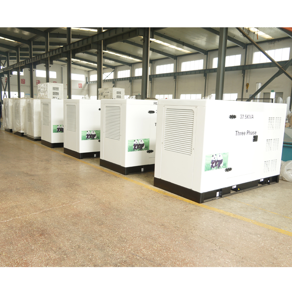 930-30 kW quiet running generators